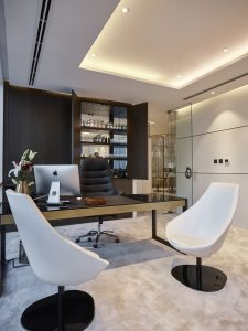 dubai office design service